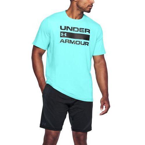 Under armour koszulka team issue wordmark jasnoniebieska - niebieski