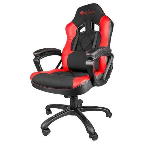 Natec Fotel genesis sx33 gaming chair czarno czerwony