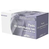 Synoptis pharma Apteo care paski do zamykania ran 6 x 38mm x 6 sztuk
