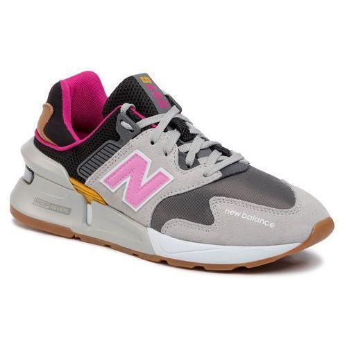 Sneakersy - ws997jgb kolorowy szary, New balance, 36-40.5