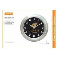 Zegar reklamowy aluminiowy morski /225mm, kolor Zegar