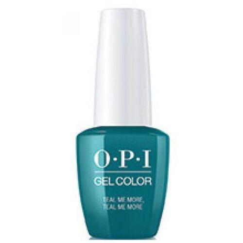 OPI GelColor TEAL ME MORE, TEAL ME MORE Żel kolorowy (GC-G45)