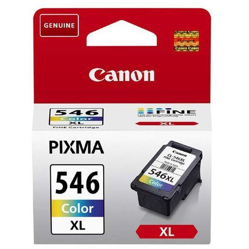 Canon oryginalny ink CL-546XL, colour, 300s, 13ml, 8288B001, Canon Pixma MG2450,2550, kolor Cyan,