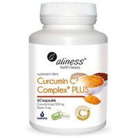 Curcumin C3 complex®PLUS z piperyna 500 mg/5 mg x 60 VEGE kaps.