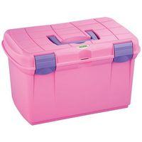 pudełko na przybory do pielęgnacji koni arrezzo, różowe, 328265 marki Kerbl