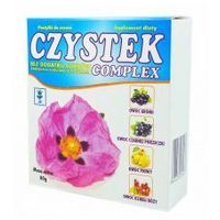 Pastylki Pastylki Czystek COMPLEX bez cukru 80g PLANTA-LEK