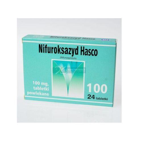 Tabletki Nifuroksazyd (Hasco), 100 mg, tabl.powl.,24 szt,bl