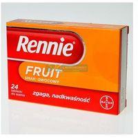 Tabletki Rennie Fruit,tabl.do ssan.,sm.owoc.,24szt,bl(2x12)