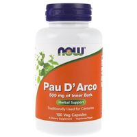 Now Foods Pau D'arco 500 mg - 100 kapsułek