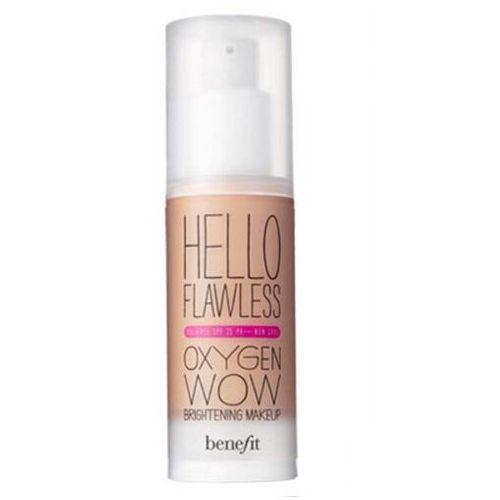 Hello flawless oxygen wow spf25 podkład 30 ml dla kobiet beige Benefit - Ekstra oferta