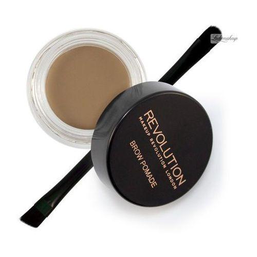 Makeup revolution brow pomade pomada do brwi soft for Soft revolution