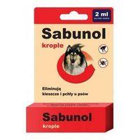 Derma-pharm Sabunol krople na pchły i kleszcze dla średnich psów 2ml