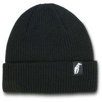czapka zimowa CRAB GRAB - Claw Label Beanie Black (BLK) rozmiar: OS