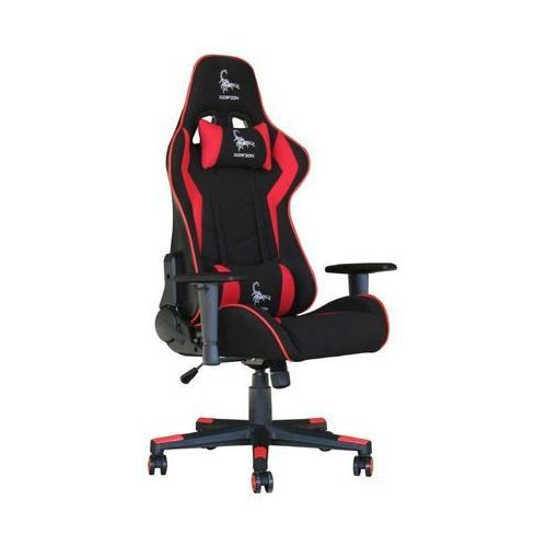 Fotel dla gracza Gembird Scorpion (czarno-czerwony)