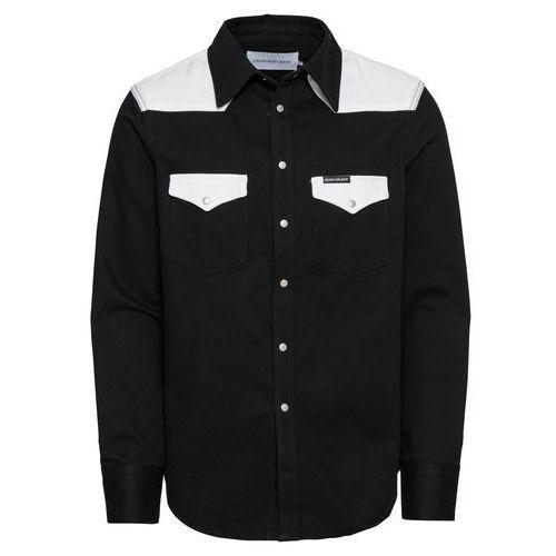 d3fe2bf6a Calvin Klein Jeans Koszula 'foundation western shirt' czarny /  biały, Calvin