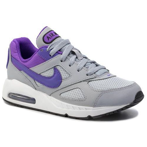 Buty NIKE - Air Max Ivo (Gs) 579998 051 Wolf Grey/Hyper Grape/White, kolor szary