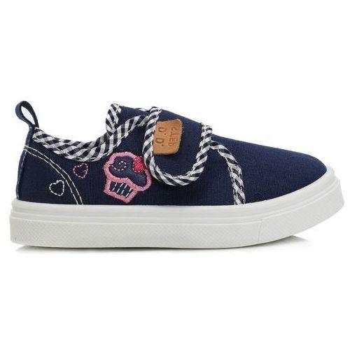 9fd0901a D-d-step buty za kostkę chłopięce 33 niebieski - emodi.pl moda i styl