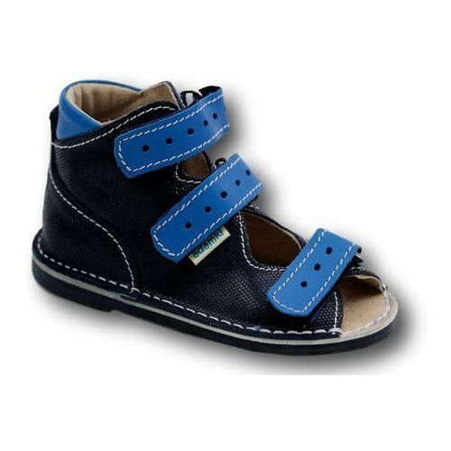 fd90470a Profilaktyczne buty wzór 015NM kolor granat/niebieski (Adamki ...