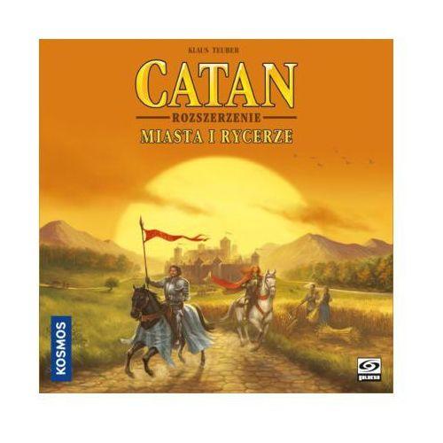 Gra catan - miasta i rycerze dodatek dla 5-6 graczy +darmowa dostawa przy płatności kup z twisto marki Galakta