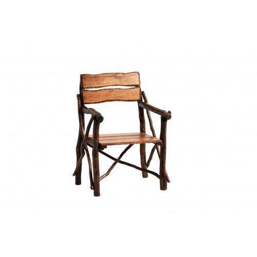 Krzesło dębowe z podłokietnikiem RUSTICA