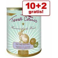 10 + 2 gratis! Terra Canis bez zbóż, 12 x 800 g - Wołowina z cukinią, dynią i oregano