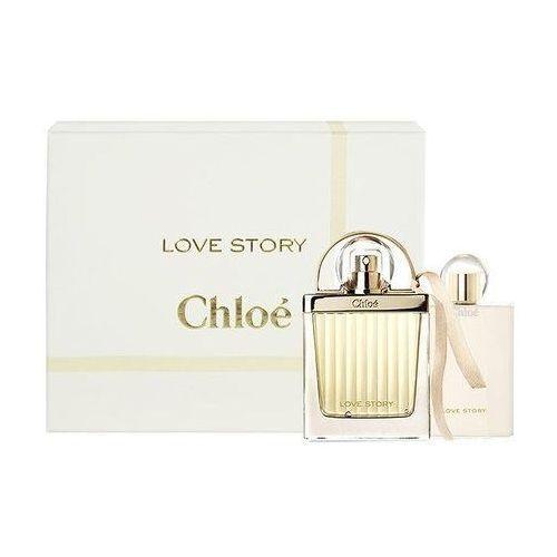 Chloe Love Story. Zestaw woda perfumowana spray 50 ml, balsam do ciała 100 ml - Chloe DARMOWA DOSTAWA KIOSK RUCHU