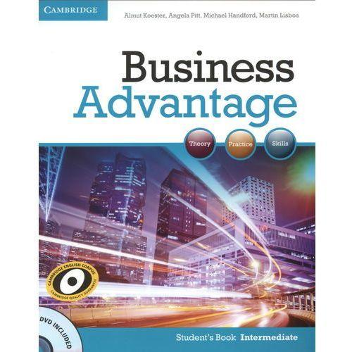 Business Advantage Intermediate Książka Ucznia Plus DVD (9780521132206)