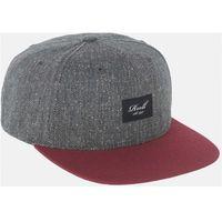 czapka z daszkiem REELL - Pitchout Cap Charcoal Speckle/Maroon (140)