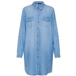 sukienka koszulowa 'silla' niebieski denim marki Vero moda