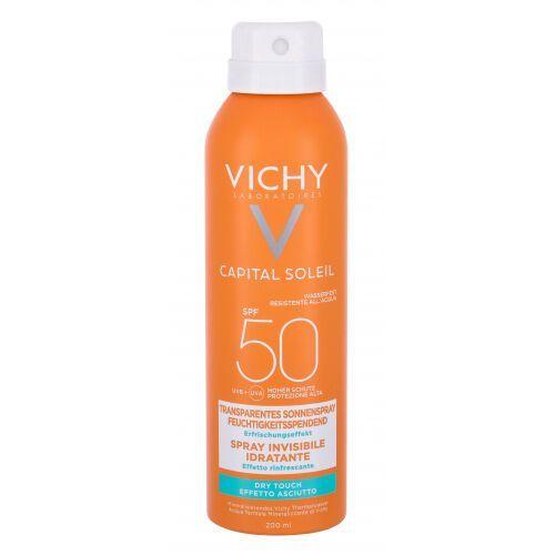 Capital soleil invisible hydrating mist spf50 preparat do opalania ciała 200 ml dla kobiet Vichy - Najtaniej w sieci