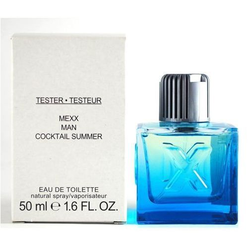 cocktail summer man, woda toaletowa – tester, 50ml marki Mexx