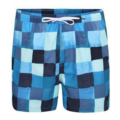 b10c9601420dd1 QUIKSILVER Szorty kąpielowe 'RESIN CHECK VOLLEY 15' niebieski /  jasnoniebieski, 1 rozmiar About You