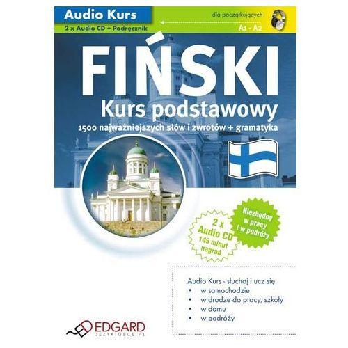 Fiński Dla Początkujących. Kurs Podstawowy. Audio Kurs, 2cd + Podręcznik