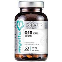 Silver Pure100% Koenzym Q10 60 kaps. (5903021590961)