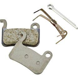 Shimano M07Ti Klocek hamulcowy żywica beżowy Klocki do hamulców tarczowych