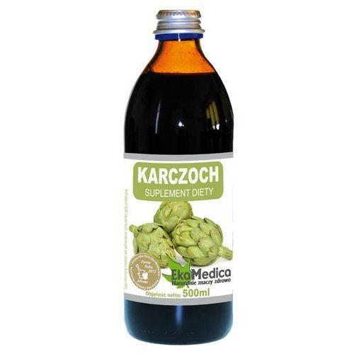 Karczoch sok (500 ml) EkoMedica - Rewelacyjna obniżka