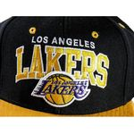 Czapka Mitchell & Ness Los Angeles Lakers Team Arch Snapback - NA80Z-LALAKE - Lakers