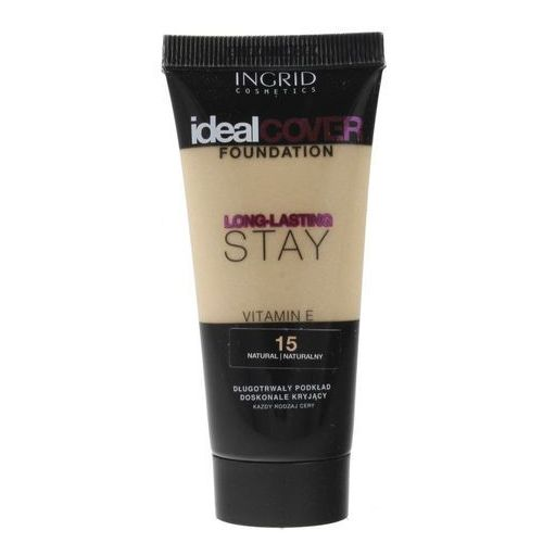 Ingrid Ideal Cover Podkład Long-Lasting Stay nr 15 Natural 30ml