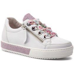 Sneakersy GABOR - 26.509.52 Weiss/Rosa(Se.Fl.), w 3 rozmiarach