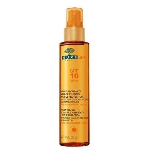 Sun olejek do opalania do twarzy i ciała spf10 150ml Nuxe - Bardzo popularne