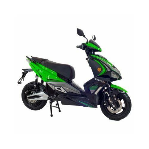 Torq Skuter elektryczny e-max zielono-czarny darmowy transport