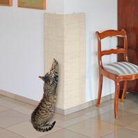 Narożny drapak Karlie dla kota - do zamocowania na ścianie