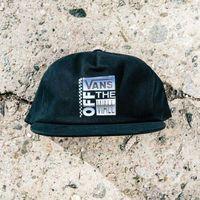 czapka z daszkiem VANS - Ave Shallow Unstructured Black (BLK)