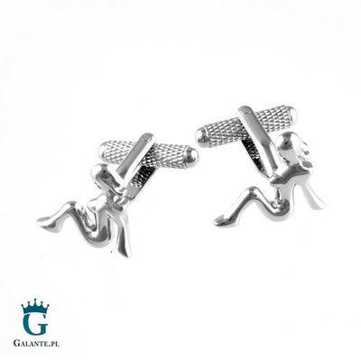 Spinki do krawatów i mankietów Galante Galante