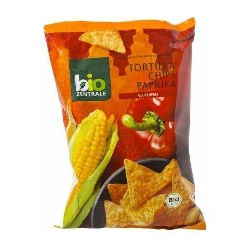 111bio zentrale Chipsy tortilla nachosy paprykowe bezglutenowe 125g - bio zentrale eko