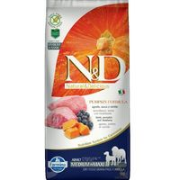 N&d puppy no grain pumpkin medium&maxi - lamb & blueberry 2,5kg (8010276033246)