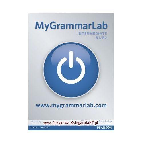 MyGrammarLab Intermediate, Student&#39s Book (podręcznik) plus MyLab for self study, Diane Hall, Mark Foley