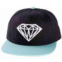czapka z daszkiem DIAMOND - Brilliant Black Diamond Blue (BDBL) rozmiar: OS