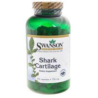 Swanson Shark Cartilage (Chrząstka rekina) 750 mg - 250 kapsułek
