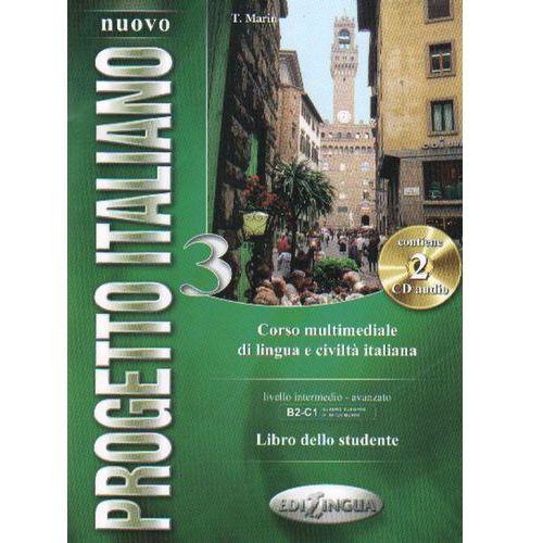 Nuovo Progetto Italiano 3 libro dello studente + CD (188 str.)
